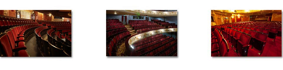 traditional and contemporary auditorium seating in London's Theatres