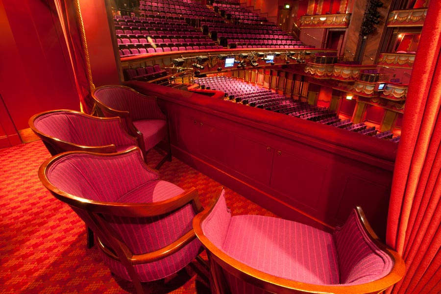 Box Chairs At The Prince Edward Theatre