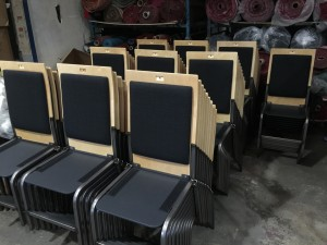 Stacking Chairs for New York's St Ann's Warehouse