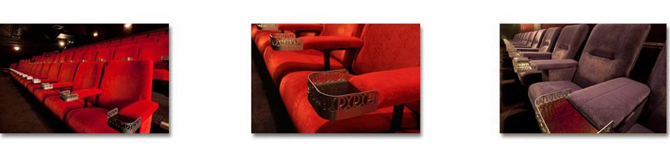 Kirwin & Simpson can design, install and refurbish all kinds of cinema seating