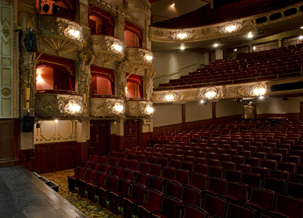 Lazarus seating at the King'sTheatre, Edinburgh