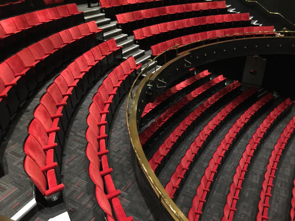 Bloomsbury Theatre UCL, new seating by Kirwin & Simpson